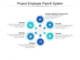 Project Employee Payroll System Ppt Powerpoint Presentation Layouts Ideas Cpb