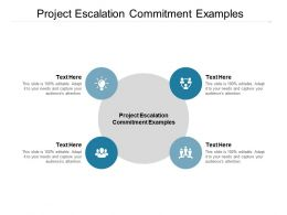 Project Escalation Commitment Examples Ppt Powerpoint Presentation Icon Format Ideas Cpb