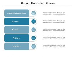 Project Escalation Phases Ppt Powerpoint Presentation Portfolio Graphic Images Cpb