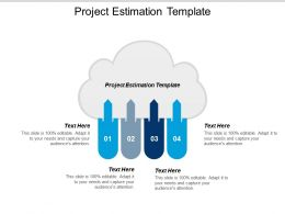 Project Estimation Template Ppt Powerpoint Presentation Gallery Background Cpb