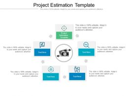 Project Estimation Template Ppt Powerpoint Presentation Styles Design Ideas Cpb
