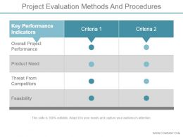 project_evaluation_methods_and_procedures_ppt_images_gallery_Slide01