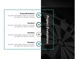 Project Evaluations Ppt Powerpoint Presentation Professional Background Designs Cpb