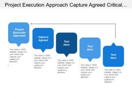 Project Execution Approach Capture Agreed Critical Success Factors
