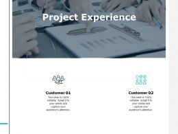 Project Experience Customer Ppt Powerpoint Presentation File Pictures