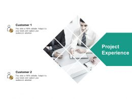 Project Experience Customer Ppt Powerpoint Presentation Professional Shapes