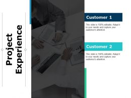 Project Experience Teamwork Ppt Powerpoint Presentation File Professional