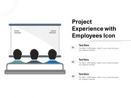 Project Experience With Employees Icon