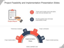 Project Feasibility And Implementation Presentation Slides