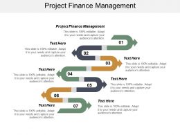 Project Finance Management Ppt Powerpoint Presentation Infographic Template Tips Cpb