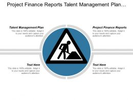 Project Finance Reports Talent Management Plan Procurement Purchasing Cpb