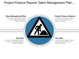 Project Finance Reports Talent Management Plan Procurement Purchasing Cpb