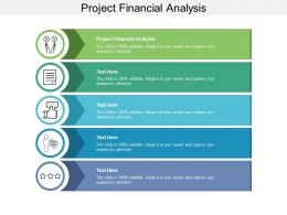 Project Financial Analysis Ppt Powerpoint Presentation Ideas Display Cpb