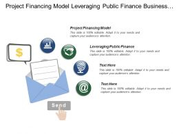 Project Financing Model Leveraging Public Finance Business Implications