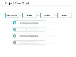 Project Flow Chart Ppt Powerpoint Presentation File Slide Download Cpb