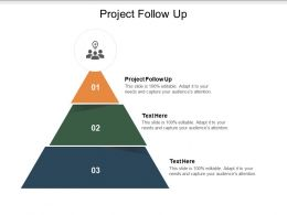 Project Follow Up Ppt Powerpoint Presentation Outline Master Slide Cpb