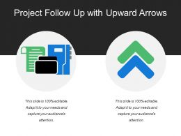 Project Follow Up With Upward Arrows