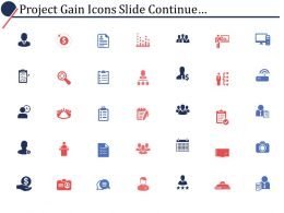 Project Gain Powerpoint Presentation Slides Continue