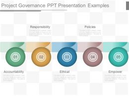 Project Governance Ppt Presentation Examples