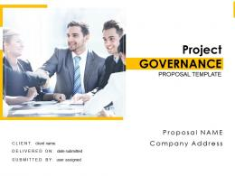 Project Governance Proposal Template Powerpoint Presentation Slides