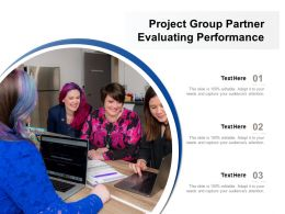 Project Group Partner Evaluating Performance