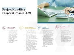 Project Handling Proposal Phases Solution Ppt Powerpoint Presentation