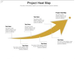 Project Heat Map Ppt Powerpoint Presentation Good Cpb