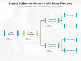 Project Horizontal Hierarchy With Team Members