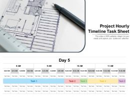 Project Hourly Timeline Task Sheet