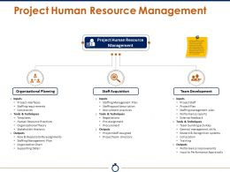 Project Human Resource Management Powerpoint Slide Presentation Guidelines