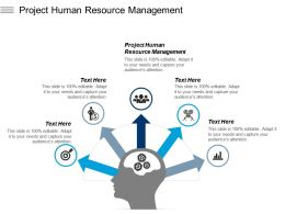 Project Human Resource Management Ppt Powerpoint Presentation Gallery Background Designs Cpb