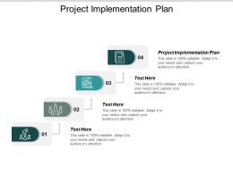 Project Implementation Plan Ppt Powerpoint Presentation Layouts Grid Cpb