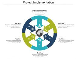 Project Implementation Ppt Powerpoint Presentation Slides Example Introduction Cpb
