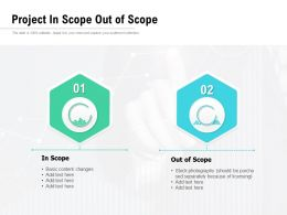 Project In Scope Out Of Scope