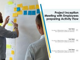 Project Inception Meeting With Employees Preparing Activity Flow