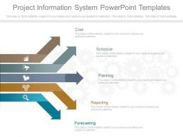 Project Information System Powerpoint Templates