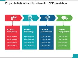 Project Initiation Execution Sample Ppt Presentation