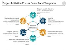 Project Initiation Phases Powerpoint Templates