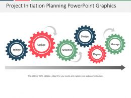 Project Initiation Planning Powerpoint Graphics