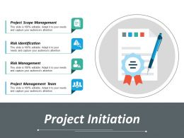 Project Initiation Ppt Inspiration Diagrams