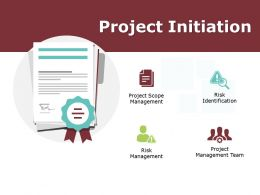 Project Initiation Ppt Powerpoint Presentation Gallery Aids