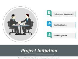 Project Initiation Slide2 Ppt Inspiration Deck