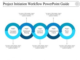 Project Initiation Workflow Powerpoint Guide