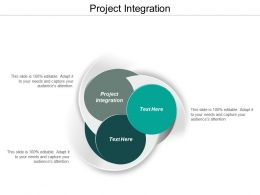 Project Integration Ppt Powerpoint Presentation Layouts Gridlines Cpb