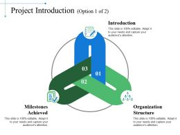 Project Introduction Powerpoint Slide Images