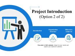 Project Introduction Powerpoint Slide Templates