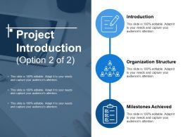 Project Introduction Ppt Slide Template
