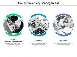 Project Inventory Management Ppt Powerpoint Presentation Professional Tips Cpb