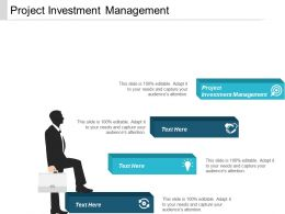 Project Investment Management Ppt Powerpoint Presentation Infographic Template Master Slide Cpb