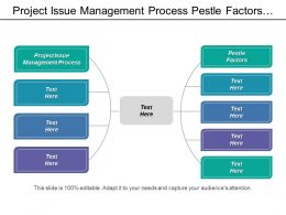 project issue management process pestle factors pest analysis cpb